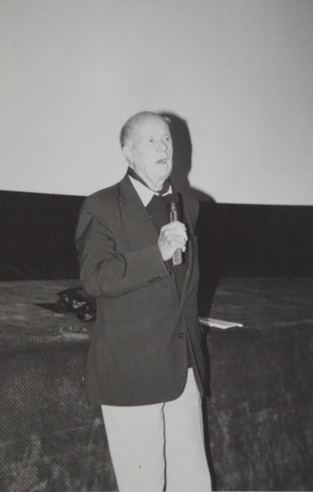 Jean Rouch on stage