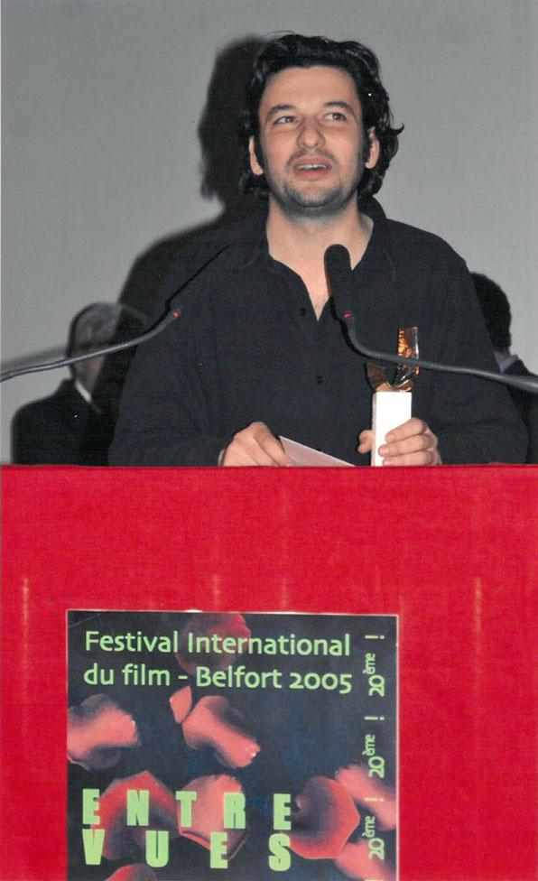 """awards ceremony : Eric Caravaca wins the Grand Prix of the Jury for """"Le Passager"""""""