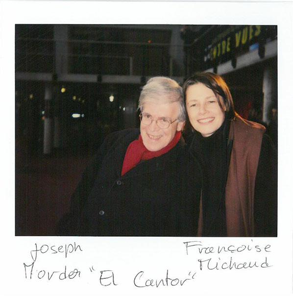 """Joseph Morder and Françoise Michaud, """"El Cantor"""", (in competition)"""